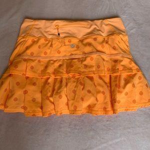 lululemon neon tennis skirt!!
